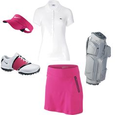 I don't golf but this is pretty darned cute. Can you dress like this to play putt putt??