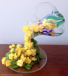 How To Create  A Flowing Flowers Effect Pitcher