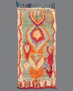 vintage Moroccan rug, Boujad #BJ26
