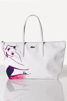 Lacoste L.12.12 Concept Blogger Bag : Bags & Wallets