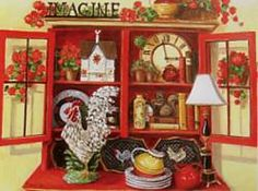 """Imagine"", painting by Mary Kay Crowley"