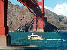 Water Sightseeing Tours - Golden Gate Bridge on Blue & Gold Fleet $25 @ adult ($75 family)