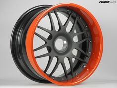 This center locking Forgeline DE3P finished with Titanium center, Orange outer, and Satin Black inner is on its way to Vintage Motorsports. All of our wheels are custom made-to-order, so they can be made in any finish combination and virtually any bolt pattern, including center lock. Learn more about the DE3P (including sizes and pricing) at: http://www.forgeline.com/products/premier-series/de3p.html #Forgeline #DE3P #centerlock #notjustanotherprettywheel #madeinUSA #wheelwednesday