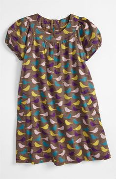 Mini Boden 'Fun' Print Dress (Toddler, Little Girls & Big Girls) available at #Nordstrom