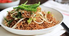 Soy Sauce Pan Fried Noodles