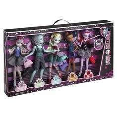 Dance Class Exclusive 5-PackFall 2013 - Exclusive to Target5-Pack includes: Lagoona, Robecca, Operetta and exclusive Gil and Rochelle
