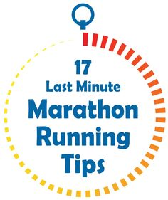 17 Last Minute Marathon Running Tips - Does running a marathon ever get easier? Well, if you're using the right techniques remarkably it does. Today I'm going to pull back the curtain and share some of my absolute BEST marathon running tips with you. Before running my first half marathon this year, I decided to collect the best tips to help me get through it. I personally tested them on my last race and surprisingly they did help.