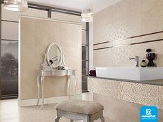 Stilul colectiilor Vileroy este dat de produsele cu design simplu, aerisit, cu forme contrastante dar naturale.