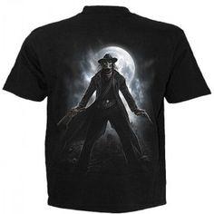 T-shirt homme avec squelette cowboy T Shirt, Mens Tops, Gothic Clothing, Skeleton, Supreme T Shirt, Tee Shirt, Tee
