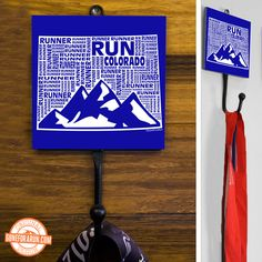 Choose your state to put on one of our medal hangers! A beautiful way to display your bling! GoneForaRun.com