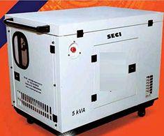 Spain India (SECI) 5 KVA Diesel Generator Generic