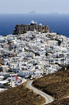 Astypalaia a greek island in the southeastern Aegean Sea. #Greece #Dodecanese #kitsakis