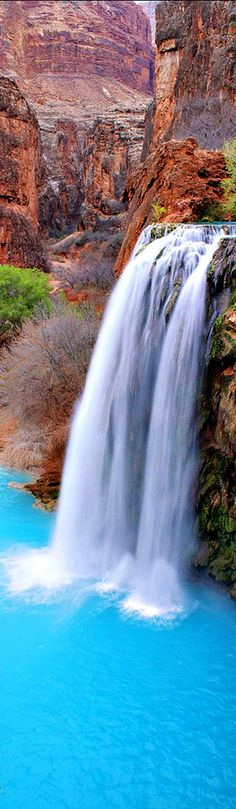 Havasu Falls, Arizona // Larry Miller Scottsdale. http://larrymillerscottsdale.com/havasu-falls-2/
