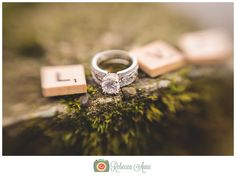 Ring shot by Rebecca Anne Photography. #Rings #WeddingRings #wedding