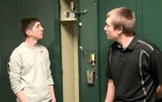 Students build robotic locker opener for disabled student.  A pair of seniors at a Michigan high school used their schools resources to build something more useful: a device that allows a disabled classmate to open his locker with a simple gesture.