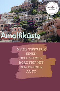 Die italienische Amalfiküste ist ein traumhaftes Reiseziel. Mit dem eigenen Auto lässt sich viel erkunden, aber es gibt ein paar Dinge, die man für den eigenen Roadtrip beachten sollte. Meine Urlaubstipps gibt's hier im Beitrag.