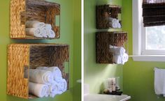How to make bathroom towel storage basket step by step DIY tutorial instructions, How to, how to do, diy instructions, crafts, do it yourself, diy website, art project ideas