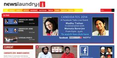 Newslaundry's spread of Candidates 2014 on Facebook Talks Live