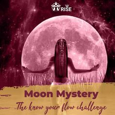 """For too many years, we have been trying to navigate life in a masculine paradigm; no wonder it didn't work. As women, we are cyclic, moving, changing. We are almost 80% water. Like the Sacred Waters on this planet, we too are governed by the Moon. The """"Know your Flow"""" challenge will help you to: 🌑 Meet your Sacred Feminine 🌑 Tap into your Blood Wisdom 🌑 Align your body with the Moon Wisdom 🌑 Dive into your Womb Consciousness 🌑 Discover your powe"""