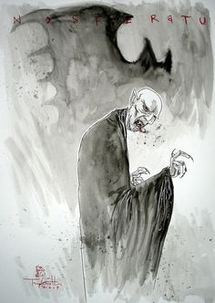 Nosferatu by Ben Templesmith Comic Art