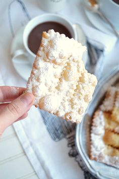 chiacchiere {fried Italian pastries}   The Baking Fairy