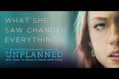 Unplanned is the story of Abby Johnson's journey from college student to Planned Parenthood volunteer to clinic director to pro-life advocate. It's in theaters now–but it won̵… 40 Days For Life, Right To Choose, Choose Life, In Theaters Now, Christian Movies, Christian Videos, Pro Life, Official Trailer, Amazing Grace