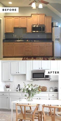 Modern Kitchen Cabinets - CLICK PIC for Various Kitchen Ideas. #cabinets #kitchenstorage