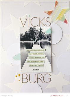 vicksburg... Brimfield Main SB only by maggie_massey at @studio_calico