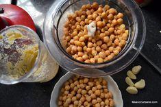 preparare hummus de casa pas cu pas (1) Hummus, Tahini, 1, Vegetables, Food, Home, Red Peppers, Essen, Vegetable Recipes