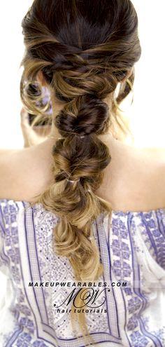 Cute everyday braid hairstyle | hair tutorial