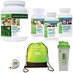 """10-Day Athlete's Transformation Cleanse NEW! Athlete's Transformation Pack Make your """"After"""" an """"ALWAYS!"""" Includes Purium Super Meal – L.O.V. / Vanilla Chai 30 servings, Master Aminos 150 ct, Super Xanthin, Super Life Formula"""