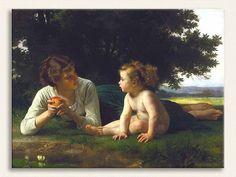 William Adolphe Bouguereau, Ayartma, Tarih: 1880