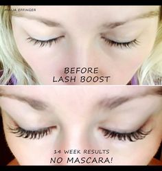 Get amazing lash results with Lash Boost! Who needs extensions when your own lashes can look amazing at a fraction of the cost!