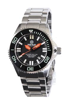 daynight t ss black dial