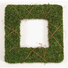 @curiouscountry posted to Instagram: Square Moss Wreaths are an excellent modern farmhouse decor addition - place them on a fireplace mantle paired with turned wood candlesticks, or in a kitchen window, or even on a console table or sideboard.  The vibrant green color will pop against your neutral color scheme, creating a magazine-worthy display for any season.  These wreaths come as a set of two, one large, one small, giving you even more options to decorate with. #vintagefarmhouse #modernfarmh