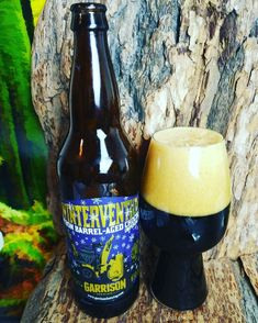 """From Garrison Brewing in Halifax Nova Scotia comes their """"Wintervention"""" a Bourbon Barrel-Aged Chocolate Imperial Porter. For the full review click on the link below.   https://wp.me/p2vssO-eG7"""
