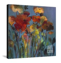 Blue Flower Giclee Print by Michelle Abrams at Art.com