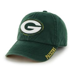 Green Bay Packers Winthrop Dark Green Hat Dark Green 47 Brand e4bcdf85e