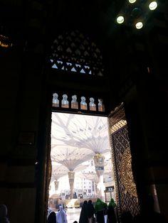 At the Prophet Mosque in Medina, Saudi Arabia via The Lunch Companion (www.thelunchcompanion.com)