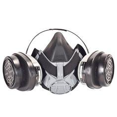 MSA Safety Works Advantage 420 Pro Respirator-10123432 - The Home Depot