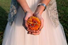 Pon pon with wedding rings