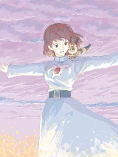 Nausica is one of my fave girl characters in Ghibli other than Chihiro and princess Mononoke