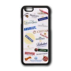 Coque publicitaire personnalisable iPhone 6 vitrée avec bords gomme