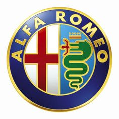 Alfa Romeo – Even the logo is a work of art.