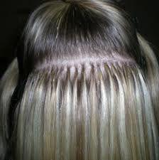 keratin hair extension technique - VEGAN, only by me, http://facebook/proglamchick