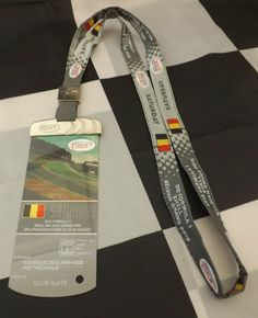 2013 BELGIAN SPA GP F1 PADDOCK CLUB MERCEDES AMG VIP GUEST PASS & LANYARD QUALI