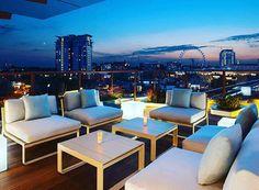 H10 Waterloo Sky Bar at H10 Hotel - London