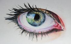 Eye illustration by Amy Robins
