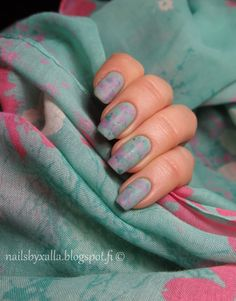 Nails Matched To An Outfit, matte nail, Isadora Pistacchio, Sally Hansen Sgt Preppy, Gina Tricot Shim. Turquoise, #ablecs15