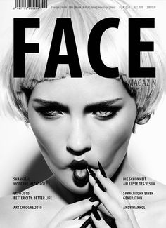 cover design | FACE #magazine